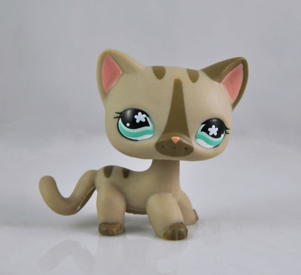 Littlest Pet Shop Cat Collection Child Girl Boy Figure Toy Loose Cute LPS822(China (Mainland))