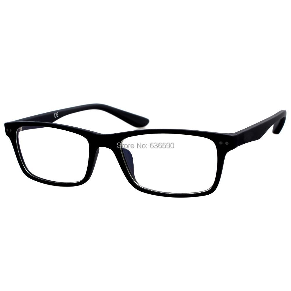 1 PR Clear Lens Frames w Free Case Fashion Design Mens Womens Brand Glasses Lenses Frame PC Computer UV Radiation Protection New - Tony Brooks's store