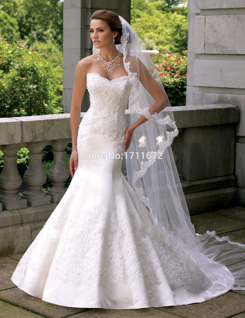 Plain Wedding Dresses