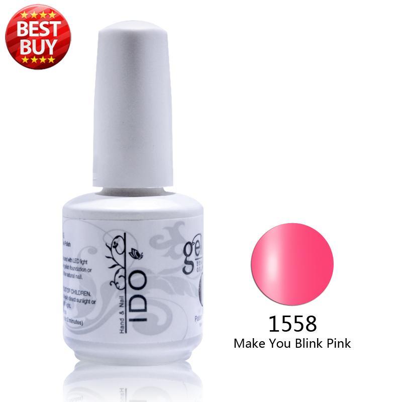 Фотография 12pcs DHL  free shipping Uv primer gel nail polish LED nail gel (10colors+1top+1base)  IDO brand gel nail polish