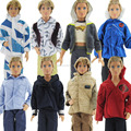 Royalty Males Formal Costume Prince Fits Garments Sneakers Outfit For Barbie Ken Doll Equipment 1/6 Dollhouse Toys Reward