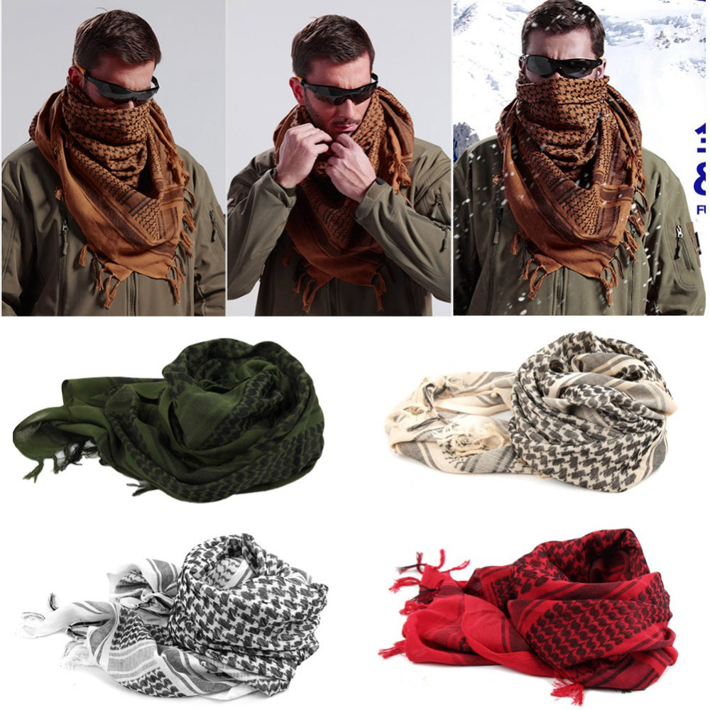 1-east men Keffiyeh Shemagh Arab Scarf Shawl Neck Cover Head Wrap for Usa(China (Mainland))