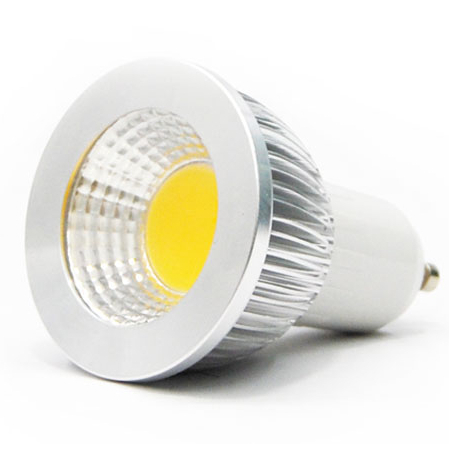 Super COB LED Lamp Spot Light GU10 Bulb light 5W/7W/10W, 100% reflecting lighting(China (Mainland))