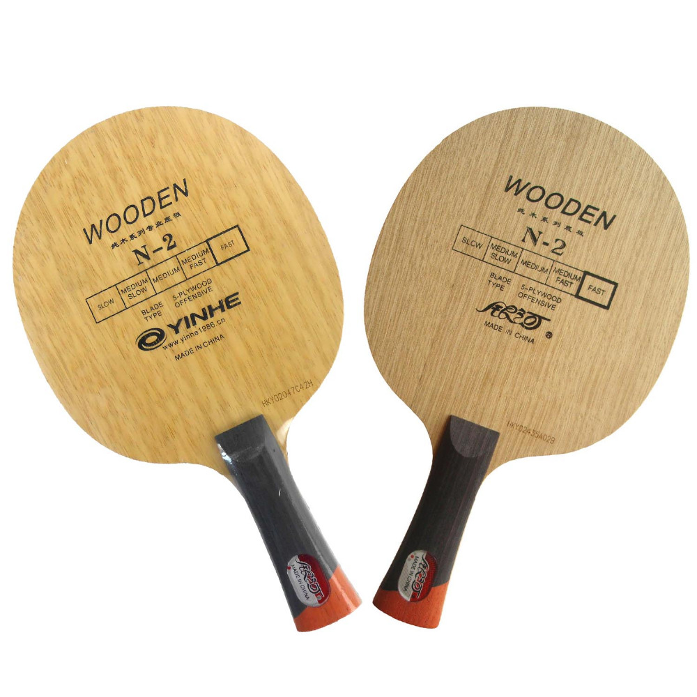Free Shipping, Galaxy / Milky Way / Yinhe N-2 Wooden (N 2, N2) Attack+Loop OFF Table Tennis Blade for Ping Pong Racket<br><br>Aliexpress