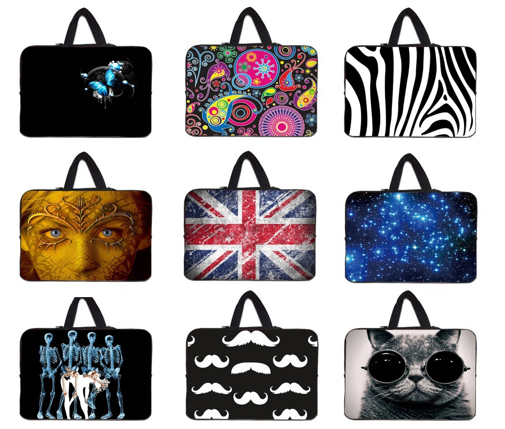 Laptop Computer Bag For 10 12 13 15 inch Tablet Netbook Unisex Case Notebook For Apple Macbook Pro 11.6 13.3 15.4 Free Shipping(China (Mainland))