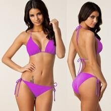 New sexy Women's Classic Bikini set Swin suit From S To XXXL Favorite Both Slimn Big Large Women Removable Pad Strappy Bikini