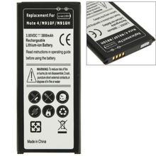Newest High Quality Mobile Phone Battery 3800mAh Rechargeable Li-ion Battery for Samsung Galaxy Note 4 / N910F / N 910H