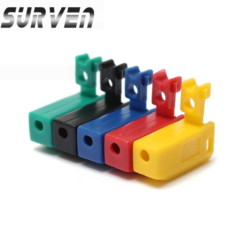 SURVEN Brand New 5 colors 2mm Banana Plug Jack For Speaker Amplifier Test Probes Terminals Cooper Excellent Quality(China (Mainland))