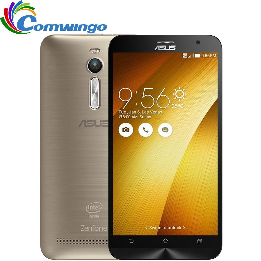 "New Original Zenfone 2 ZE551ML 4G FDD-LTE Cell Phones 4GB RAM 16/32/64GB ROM 5.5"" 1920x1080 Android 5.0 Quad-core 13.0MP Camera(China (Mainland))"
