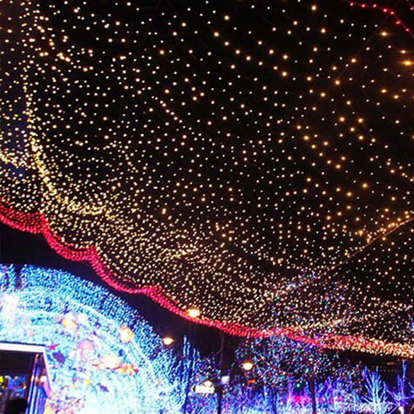 10M 50 LEDs Solar Power Fairy Lights Holiday Lighting Xmas Holiday Party Outdoor Garden Tree Decoration String Lamp E#CH(China (Mainland))