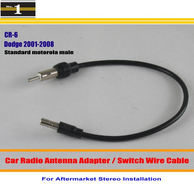 For Dodge Caliber Caravan font b Charger b font Dakota Durango Intrepid Car Radio Antenna Adapter compare prices on charger aftermarket online shopping buy low Metra Wiring Harness Diagram at gsmx.co