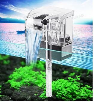 Waterfall filter power filter 220-240V Mini Aquarium fish and Turtle Aquarium external perfect liquid oxygen pump(China (Mainland))