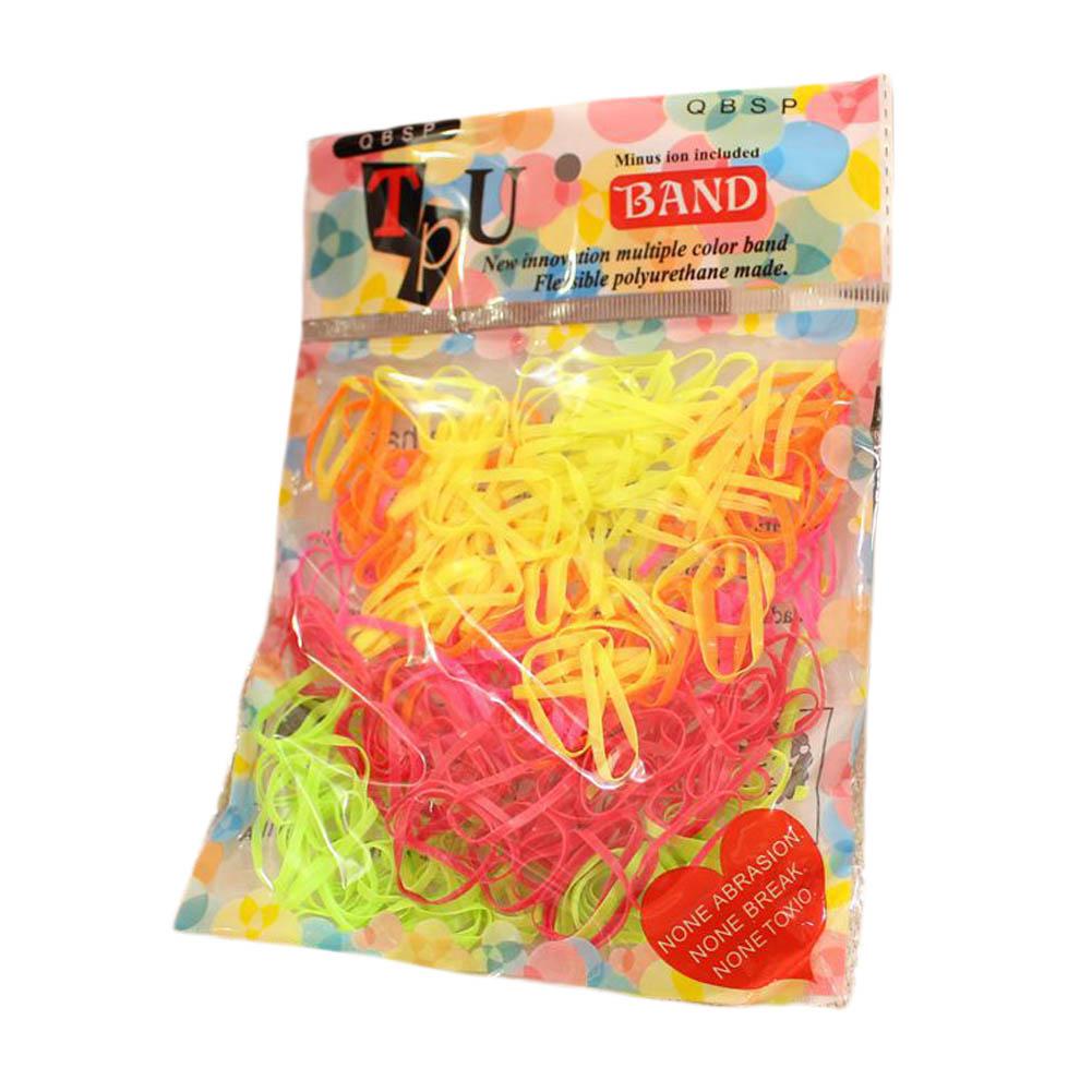 2pcs/pack Hot-selling girls hair bands Small baby rubber band Mix color princess hair accessories Good hair loop(China (Mainland))