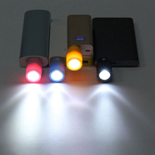 Protable MIni 3W Keyboard USB Night Light Mobile Power LED Flashlight Lamp 100Lumen High Power Energy Saving 5V ABS Material(China (Mainland))