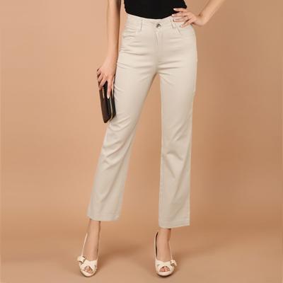 womens cotton dress pants - Pi Pants