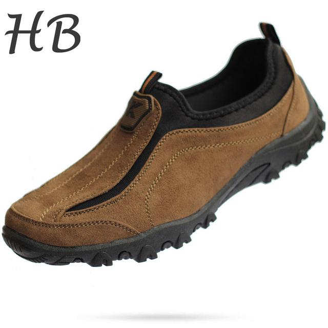 Плюс Размер 39-45 Мужская Обувь 2016 Весна Осенняя Мода Замши Повседневная Обувь ...
