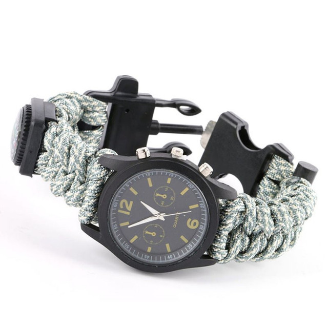 Survival Watch Multifunction Bracelet