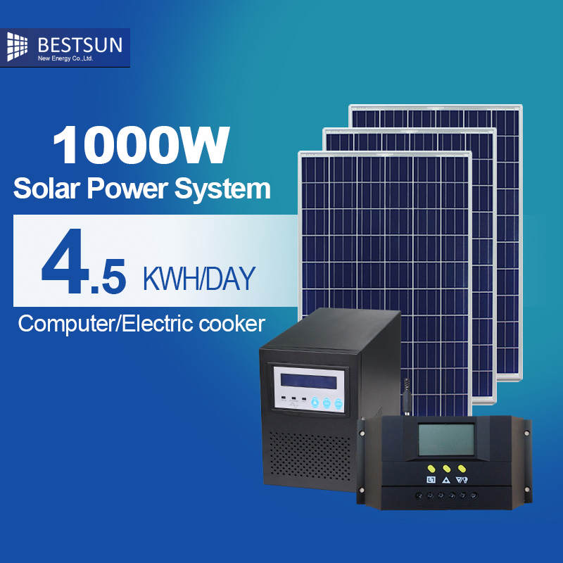 Household off Grid Solar Power Product 3KW Hot Sale Utility Grid Connected Solar Power System 1kw 10KW Solar Production Equip(China (Mainland))