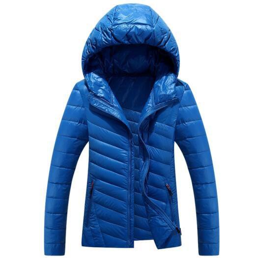 Скидки на ГОРЯЧАЯ ПРОДАЖА 2016 мужская зимнее Пальто сплошной цвет хлопка с капюшоном мужчин культивирования хлопка пуховик мужские Пальто Куртки