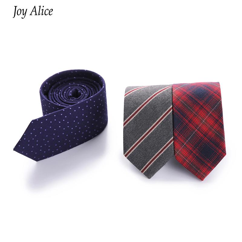 Newest Cotton Plaid Ties Necktie Gravata For Men's Suits Casual Design Men's Tie Neckwear For Wedding Classic Male Ties Cravats(China (Mainland))
