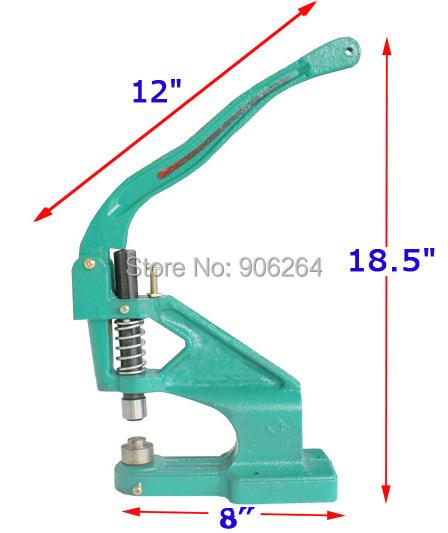 Snap Button Machine Play Button Rivet Machine Corn Machine New Design Metal Manual Eyelet Machine(China (Mainland))