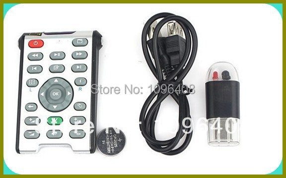 20pcs EMS,DHL Free shiping New USB Infrared Wireless Media Computer PC Remote Control(China (Mainland))