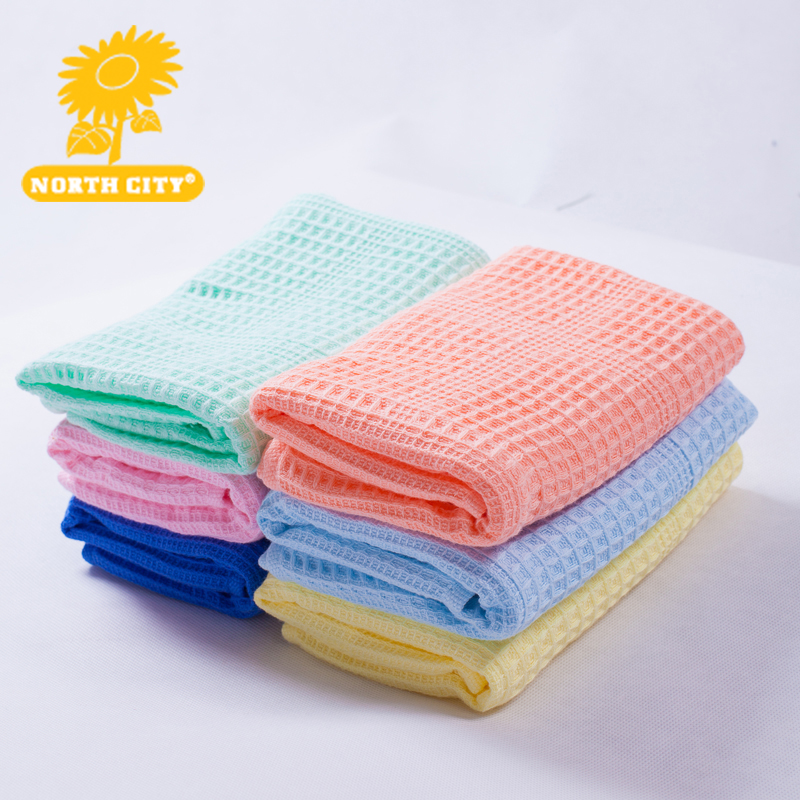 2016 high quality 6pcs/ lot kids hand towel small face washing towels soft cotton towel brand home use Terry towel #160418_m31(China (Mainland))