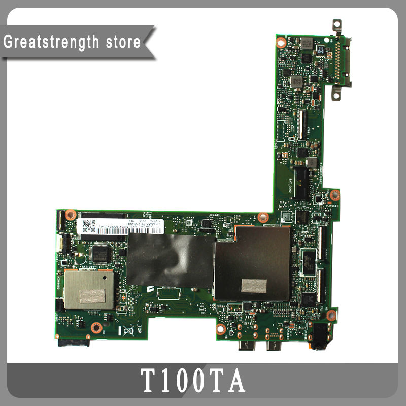 For Asus Transformer T100TA Tablet Motherboard 32GB Atom 1.33Ghz CPU 60NB0450-MB1070-208 100% Working(China (Mainland))