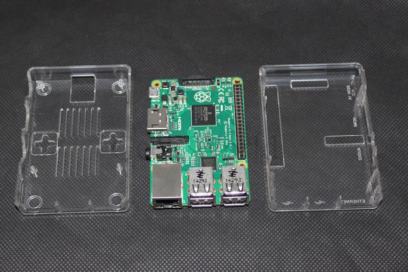 Latest 100 Pi Box ABS Plastic Transparent case for Raspberry Pi model b plus Raspberry Pi
