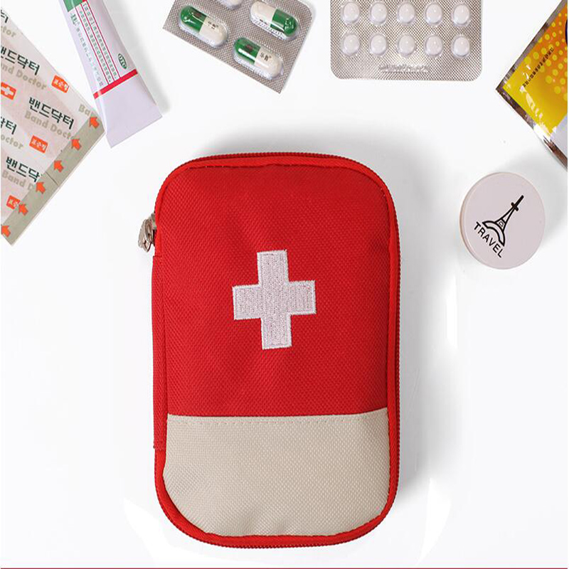Hot & New Outdoor Camping Home Survival Portable First Aid Kit bag Case(China (Mainland))
