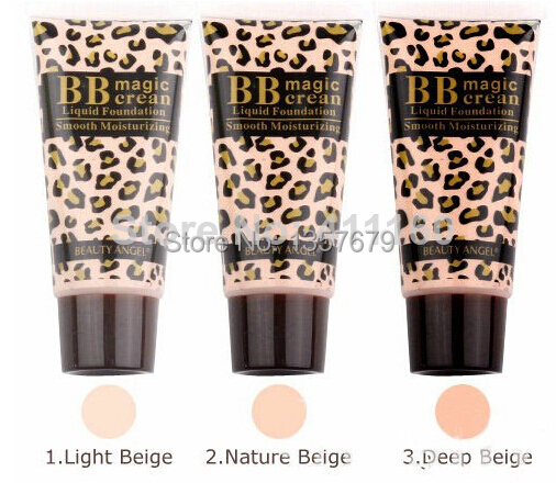 High Quality 3 Color Korea Makeup Skin Care Smooth Moisturizing BB Magic Cream Cosmetic Liquid Foundation SPF 30 PA++(China (Mainland))