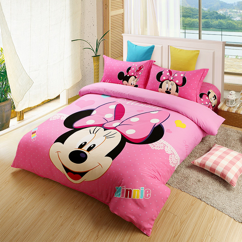 Popular Minnie Mouse Comforter Set Full Buy Cheap Minnie