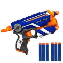 Nerf Elite Hot Fire Strike Infrarotstrahl Weichen Kugeln Nerf Spielzeugpistole Günstige Blaster Desert Eagle Manuelle Kinder Pistole spielzeug(China (Mainland))