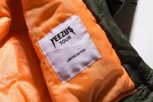 Kanye West Yeezus Jacket Ma1 Flight Mens Winter Outdoor Nylon Waterproof Windproof Casual Windbreaker Green Army