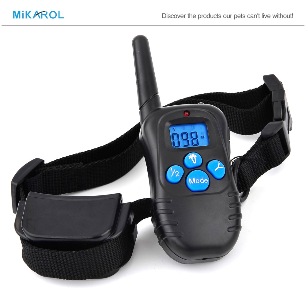 2016 New Arrival Anti Bark Stop Controller No Barking Remote Electric Shock Dog Pet Training Collar(China (Mainland))