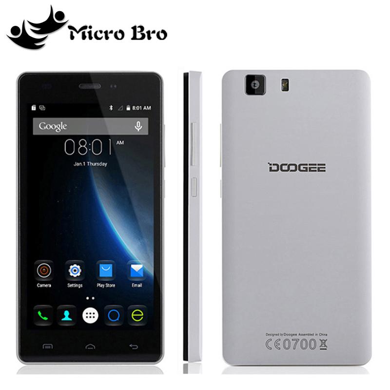 "New Original Doogee X5/X5 Pro Android 5.1 5.0"" HD IPS MT6580 Quad Core 1GB RAM 8GB ROM 5.0MP CAM 2400mAh 3G WCDMA GPS Cell Phone(China (Mainland))"