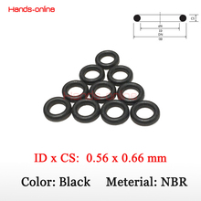 Buy 10pcs/lot NBR Orings ID 0.56mm x CS 0.66mm O Ring O-rings power products for $1.45 in AliExpress store