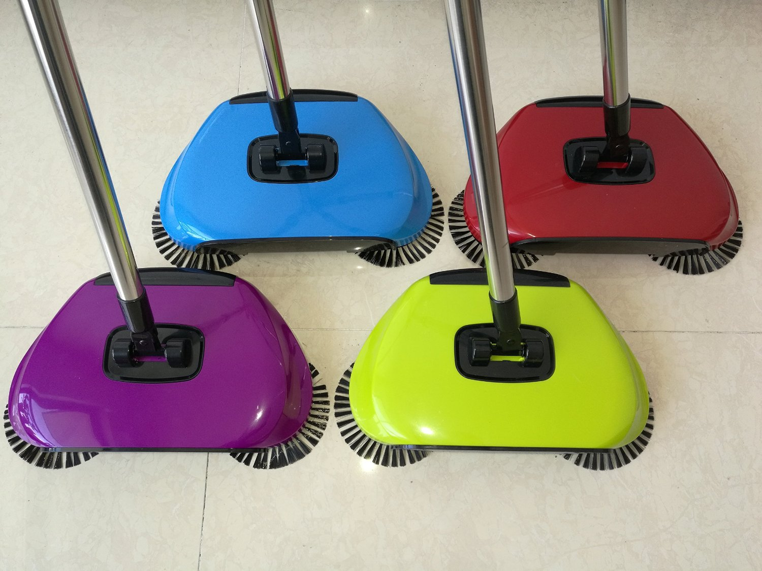 Broom Cleaner Robot Household Cleaning Hand Push Sweeper Broom machine Broom Floor Cleaner Dustpan Combination Package 3 in 1(China (Mainland))
