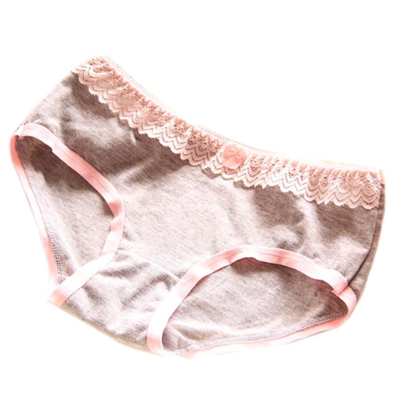 Female Underwear Japanese Style Cute Womens Briefs Cotton Lace Triangular Panties Hot Sale New Women Pants 812 Free Shipping(China (Mainland))