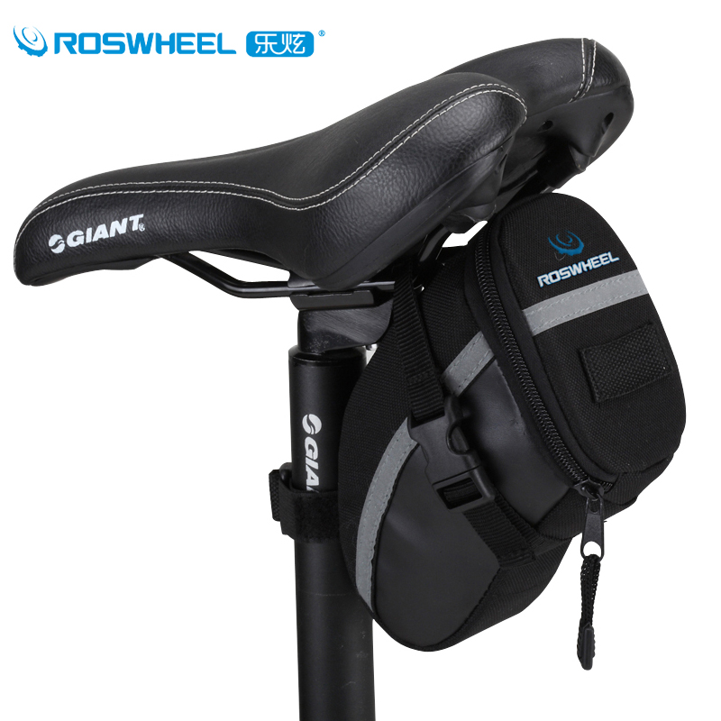 roswheel waterproof cycling bag bicycle saddle bag