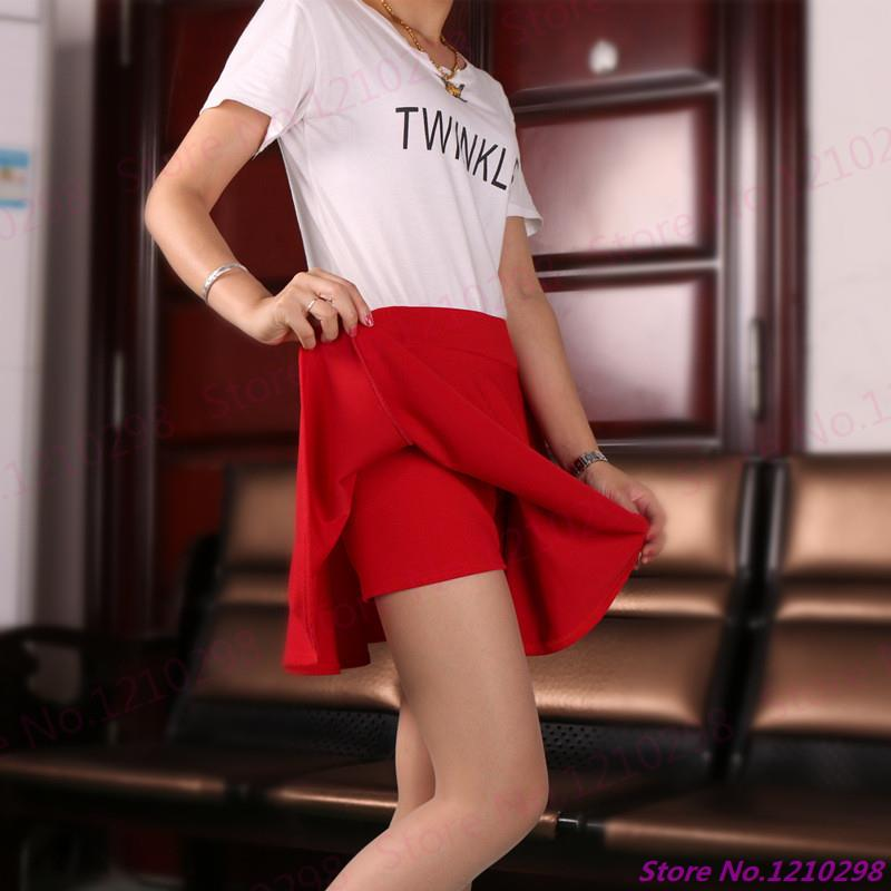 New Arrival Women Short MiniSkirts Summer High Waist Multicolor Tennis Clothing Sport Gym Fitness Skirts With Safety Pants(China (Mainland))