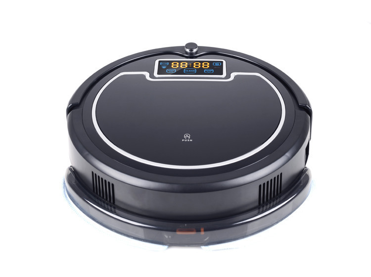 Robot Vacuum Cleaner with Water Tank (Wet and Dry Mopping)(China (Mainland))