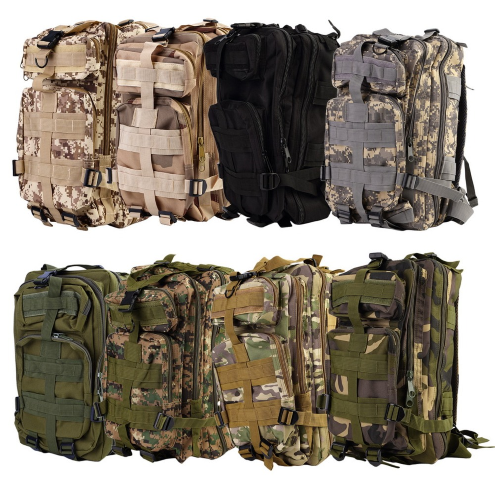 High Quality 30L Military Tactical Backpack Molle Rucksacks Camping Hiking Trekking Bag Promotion Stock in US(China (Mainland))