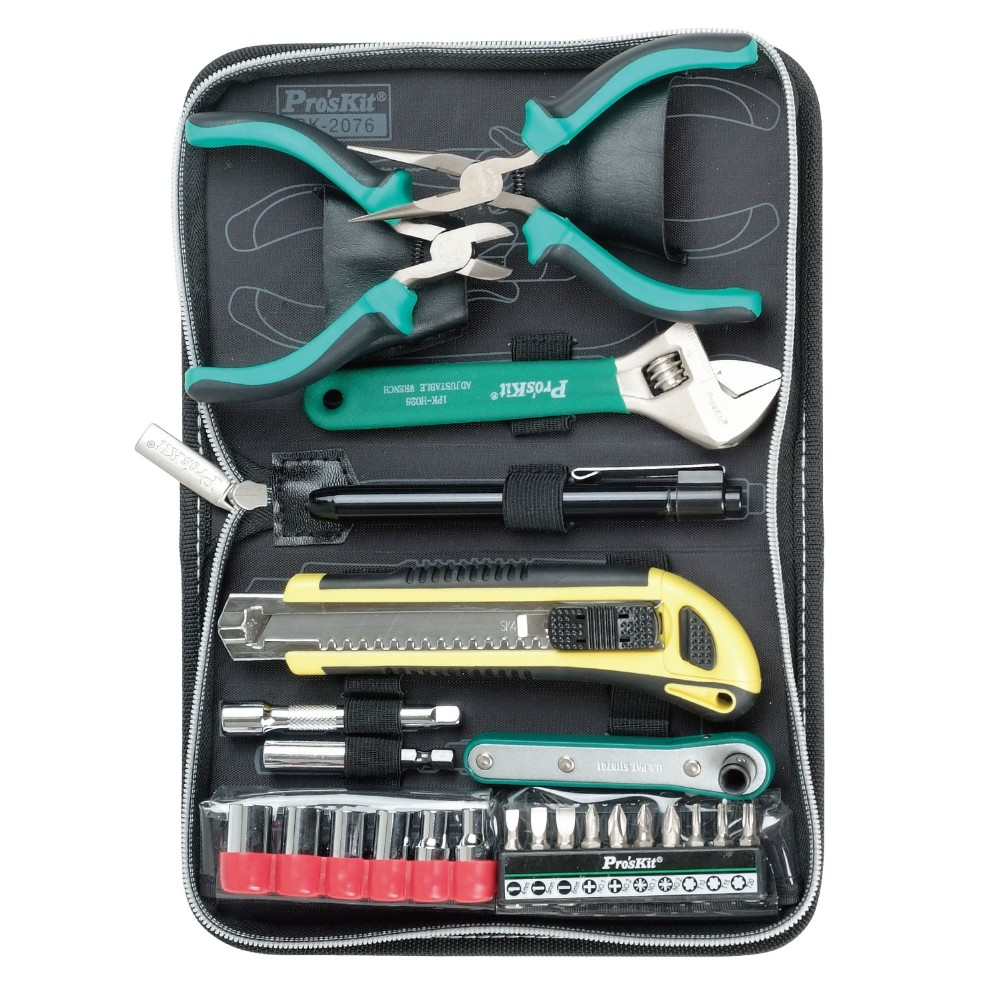 Buy Pro'skit PK-2076B  home handy tool kit Deluxe Basic Tool Kit Metric Size cheap