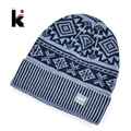 2017 Autumn And Winter Beanie Jacquard Cap Men s Skullies Bonnet Wool Hat Balaclava Knit Hats