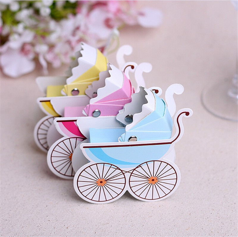 Lovely-Wedding-Event-Party-Supplies-Decoration-Accessories-Stroller-Pink-Blue-Baby-Shower-Baptism-DIY-Candy-Favors