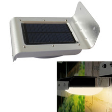 New Generation 16 LED Solar Power Sound Sensor Garden Security Lamp Outdoor Light Waterproof(China (Mainland))