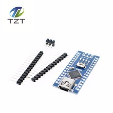 Buy 50PCS Nano 3.0 controller compatible arduino nano CH340 USB driver NO CABLE NANO V3.0 for $102.98 in AliExpress store