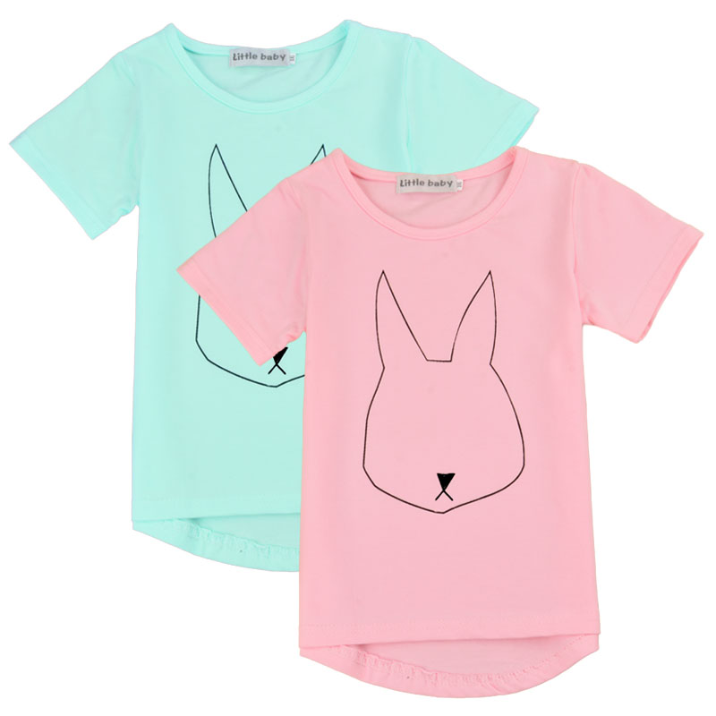 2016 New Children Boys Clothes Girls Unisex T Shirt Fashion Summer Casual Headphone Animal Print Cotton Kids 2 Colors 66 - Lovely Babies' Store store