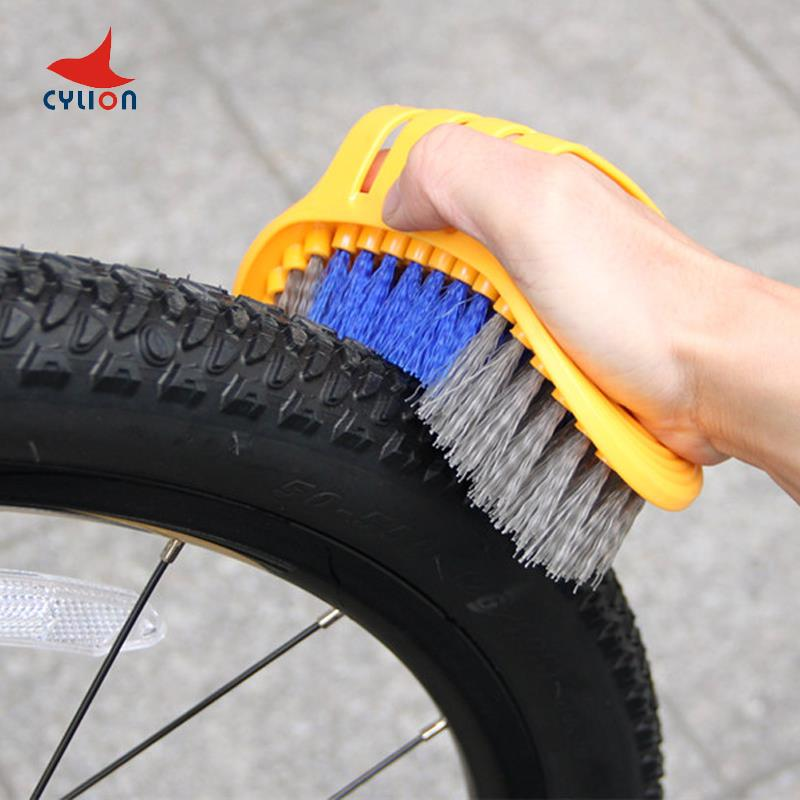 CYLION Bicycle Chain Wash Cleaner Cycle Cycling Chain Protector MTB Bike Multifunctional Tool Machine Scrubber Brushes Kits(China (Mainland))